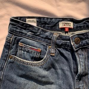 Tommy Hilfiger high-rise slim straight jeans
